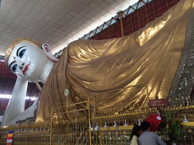 Caukhtatgyi Reclining Buddha