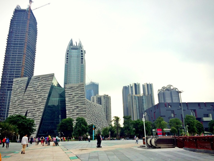 Canton Tower Area